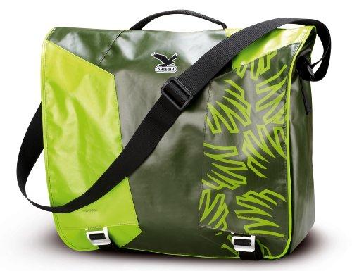 SALEWA Umhängetasche Stanley Messenger, Dark Gree/Green, 50.5 x 38 x 3 cm, 00-0000004707