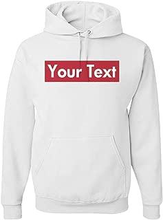 Custom Supreme Your Text Here: Unisex Gildan Heavyweight Hoodie