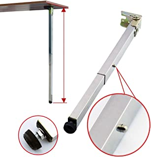 Wall Foldable Dining Table Legs, Telescopic Feet, RV Lift Legs, Bar Support Foot, 40-130cm