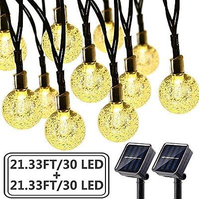Brizled 30 LED Bubble Globe String Lights