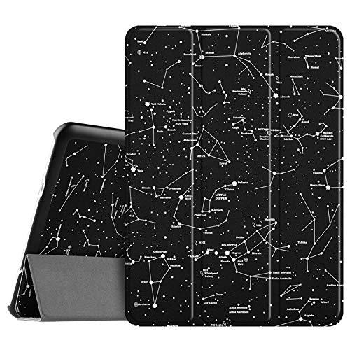 Fintie Hülle für Samsung Galaxy Tab S2 9.7 T810N / T815N / T813N / T819N 24,6 cm (9,7 Zoll) Tablet-PC - Ultra Schlank Ständer Cover Schutzhülle mit Auto Schlaf/Wach Funktion, Sternbild
