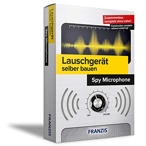Franzis 67047 Lauschgerät selbst Bauen: Intercept Set Kit, Green