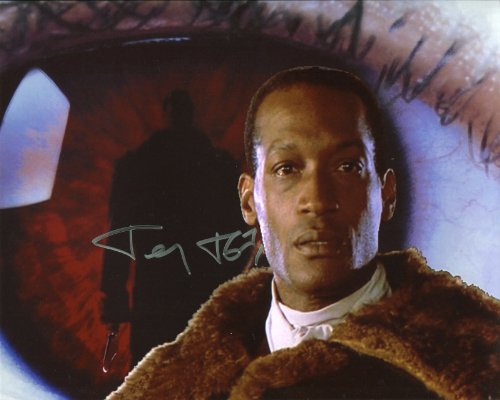 Tony Todd Signed / Autographed The Candyman 8x10 Glossy Photo. Includes Fanexpo Fanexpo Certificate of Authenticity and Proof. Entertainment Autograph Original.