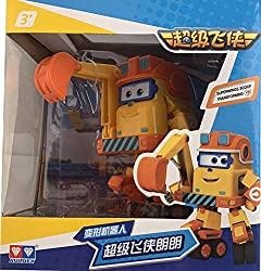 """❥[Super-favored cartoon character by children]: """"I am the fastest airplane in the world!"""" Jett and its friends are toys that children really like. High-quality materials, strong and durable, not easy to damage, safe and non-toxic, will not cause any ..."""