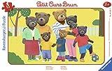 Ravensburger- Puzzle Cadre 15 pièces Photo de Famille Petit Ours Brun Enfant, Néant