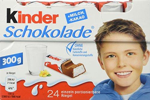 Kinder Schokolade, 4er Pack (4 x 300 g)