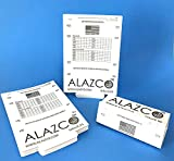 12 ALAZCO Glue Traps - Excellent Quality Glue Boards Mouse Trap Bugs Insects Spiders, Brown Recluse, Crickets Cockroaches Lizard Scorpion Mice Trap & Monitor Non-Toxic Made in USA