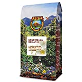 Java Planet, Organic Coffee Beans, Guatemalan Single Origin, Gourmet Low Acid Medium Roast of Arabica Whole Bean Coffee, Certified Organic, Smithsonian Bird Friendly Certified, 1LB
