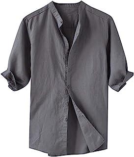 Men Comfort shirt Short sleeve,Men Classic T-Shirt,Cool-Breathable Solid TYEIN