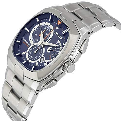 Citizen AN9000-53M - Reloj cronógrafo con esfera azul