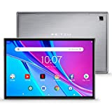 Pritom TronPad L10 Tablet, Android 10 Octa-Core Tablet, 3GB RAM & 32GB Storage, HD Glass IPS Display, 5G&2.4G WiFi, Bluetooth 5.0, GPS, FM, Dual Camera & Double Speakers - Tablet PC, Silver