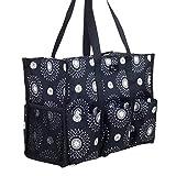 Pursetti Teacher Bag with Pockets - Perfect Gift for Teacher's Appreciation and Christmas (Cool Mandala)