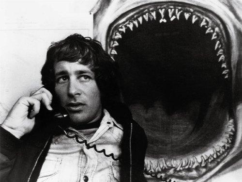 MOVIE FILM DIRECTOR STEVEN SPIELBERG JAWS SHARK TEETH 18X24'' PLAKAT POSTER ART PRINT LV10141