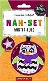 Näh-Set: Filzanhänger Winter-Eule (100% selbst gemacht)