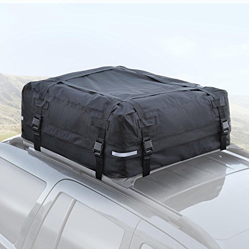 Motor Trend TopHaul Roof Top Cargo Bag XL for Car Auto SUV Van - Soft Rooftop Carrier