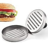fuxunamz Burgerpresse Fleischpresse Burger Maker Press - Hamburgerpresse aus Aluminium, Ø11 cm, für leckere Hamburg, BBQ, Patties oder Frikadellen, Spülmaschinenfeste, Robustes Grillzubehör