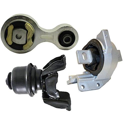 amazon com: front engine and trans motor mount set 3pcs for 2006-2009 ford  fusion mercury milan 2 3l 3 0l: automotive