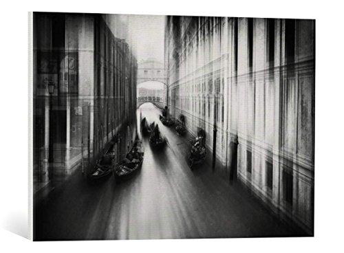 Kunst für Alle Cuadro en Lienzo: Roswitha Schleicher-Schwarz Bridge of Sighs - Impresión artística, Lienzo en Bastidor, 75x50 cm