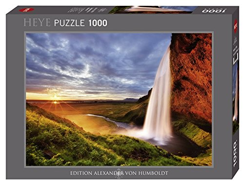 HEYE 29769 - Seljalandsfoss Waterfalls Standard, Huboldt Collection, 1000 Teile Puzzle