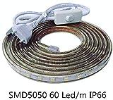 ONSSI Tiras LED Smd5050 220v 60 Led/m para Interiores y...