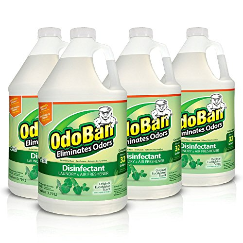 OdoBan Eucalyptus Odor Eliminator and Disinfectant Multi-Purpose Cleaner Concentrate 4 Gallon