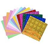 SENDILI Paquete de 100 hojas de Papel Origami - Papel Origami de una cara de colores vivos para proyectos de arte y manualidades para niños y adultos, 10x10cm