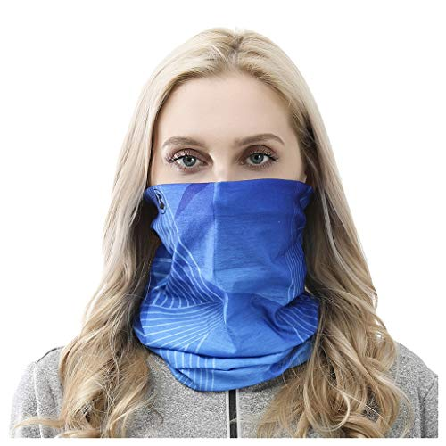 Amazing Deal Anzzhon Unisex Reusable Cycling Másk Outdoor Headband Scarf Neck Windproof Face Másk ...