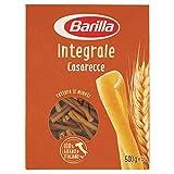 Barilla Pasta Casarecce Integrali, Pasta Corta di Semola Integrale di Grano Duro, Integrale, 500 g