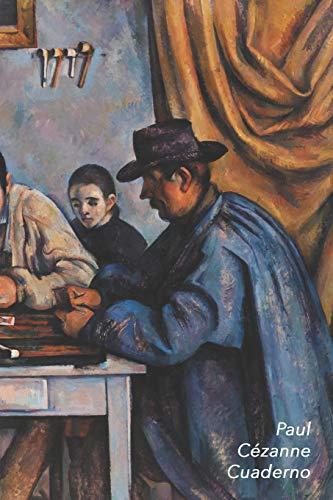 Paul Cézanne Cuaderno: Los Jugadores de Cartas   Elegante y Practico   Libreta Para Escribir   Para Tomar Notas (Cuadernos Para Escribir)