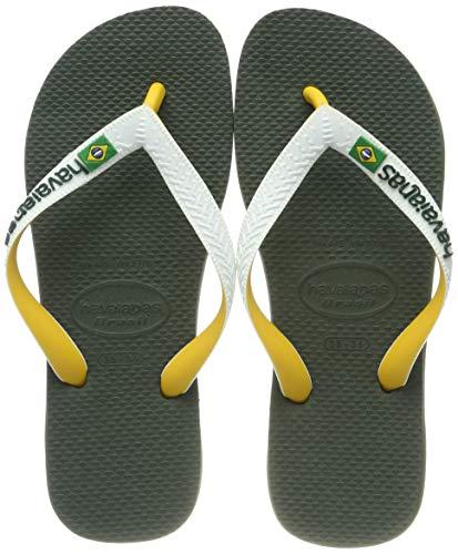 Havaianas Brasil Mix, Chanclas Unisex Adulto