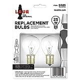Lava 5025-6 the Original Lamp 25-Watt Replacement Bulb 2-Pack