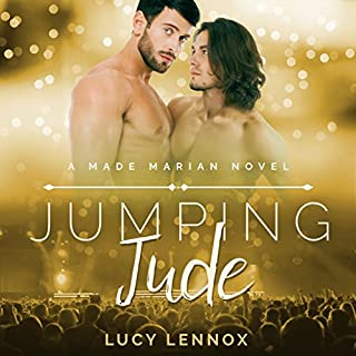 Jumping Jude audiobook cover art