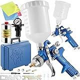 TecTake Pistola da verniciare Pistola da spruzzo - Modelli Differenti - (Set 400341)