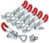 WJMY Kistenverschluss Spannverschluss Toggle Clamp Kniehebelspanner Verstellbar Metall...