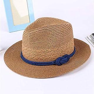 BEESCLOVER Women Lady Hat Straw Beach Cap Summer Classic Sunhats Female Boater ALS88