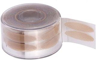SOLUSTRE 600 unidades de fita adesiva invisível para pálpebras duplas de fibra, fita adesiva fina para pálpebras com capu...
