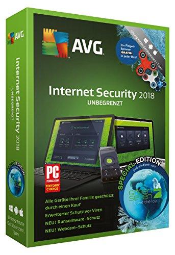 S.A.D AVG Internet Security (2018) mit Fidget-Spinner Software