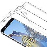 TOCYORIC Protector de pantalla para Samsung Galaxy S9, [3 unidades] sin burbujas, alta definición, antiarañazos, alta sensibilidad, suave TPU protector de pantalla para Samsung Galaxy S9