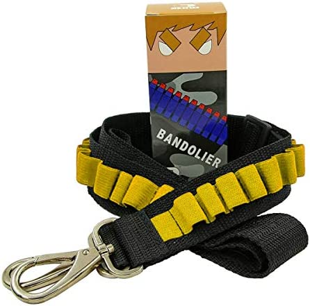 EKIND Toy Gun Bullet Shoulder Strap Darts Bandolier Kit Ammo Storage Holder Compatible for Elite product image