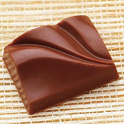 Moule à chocolat rectangle 33 x 25 mm x 12 mm de hauteur, 24 Figures