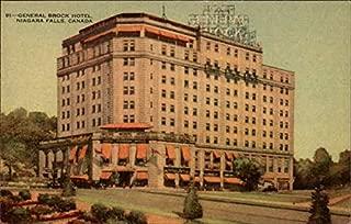 General Brock Hotel Niagara Falls, canada Original Vintage Postcard