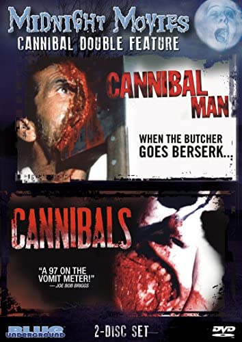 Midnight Movies Vol 8 Cannibal Double Feature Cannibal Man Cannibals product image