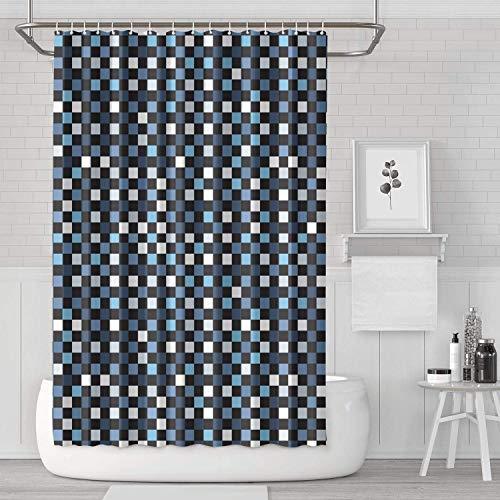 YUYUTE Tende da Doccia Decorazioni per Bagno Tende da Bagno Camo Army Camouflage Military Bathroom Accessories Fashion Durable for Bathroom,Printing Bath Curtains