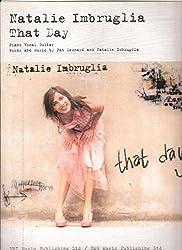 Natalie imbruglia: that day piano, voix, guitare