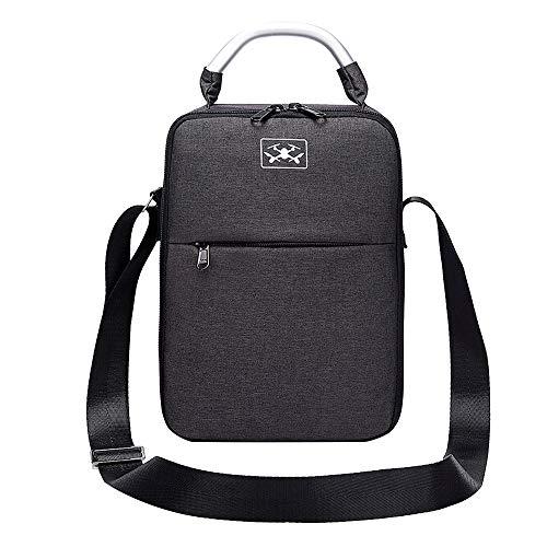 HSKB Drohne Handtasche, Tragetasche für DJI Mavic 2 PRO/Zoom Drone Rucksack Wasserdichte Tasche Portable Handtasche Tragekoffer (Schwarz)