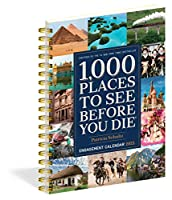 1,000 Places to See Before You Die 2021 Calendar