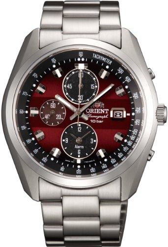 [オリエント時計] 腕時計 スポーティー ネオセブンティーズ ホライズン ソーラー クロノグラフ WV0031TY シルバー