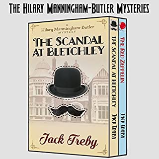 The Hilary Manningham-Butler Mysteries cover art