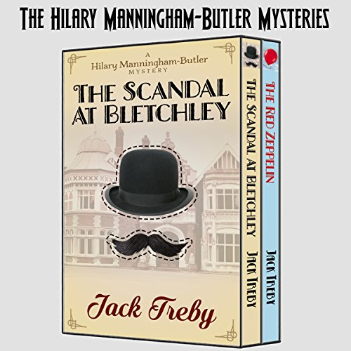 The Hilary Manningham-Butler Mysteries audiobook cover art
