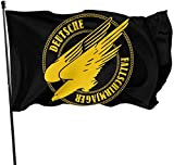 Eriesy Fahne/Flagge WW2 German Paratrooper Fallschirmjager Garden Flag Outdoor Flag Polyester Banner Flag with Grommets Outdoor Decorative Flag 3 X 5 Ft